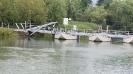 Caposile Pontonbrücke (Hinweg)